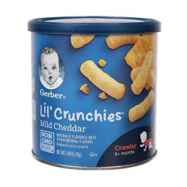 Gerber Lil Crunchies, Ounce Canister